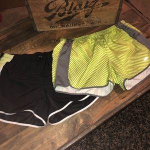 Bundle of workout shorts